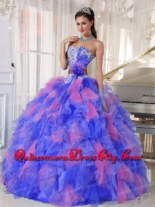 Sweetheart Muti-color Ball Gown Beading Appliques Top seller Quinceanera Dresses