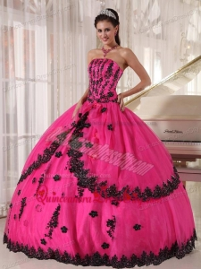 Fuchsia Quinceanera Princesita Set for Cinderella Theme