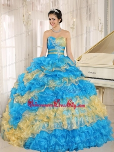 Informal Sweetheart Mult-color Cinderella Sweet 16 Package