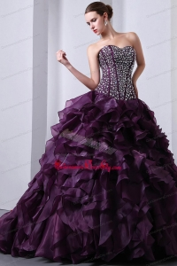Military Beading and Ruching Cinderella Quinceanera Package