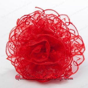 2021 Cheap and Exquisite Lace Red Fascinators