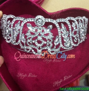 Classical Tiaras with Beading for Women