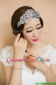 Gorgeous Beaded Silver Tiaras for Women
