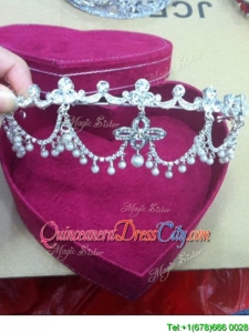 Sweet Beaded 2016 Tiaras in Silver