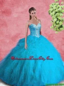 2020 Beautiful Ball Gown Sweetheart Beaded Sweet 16 Dresses
