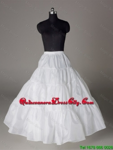 Luxurious Organza Ball Gown Floor-length White Petticoat