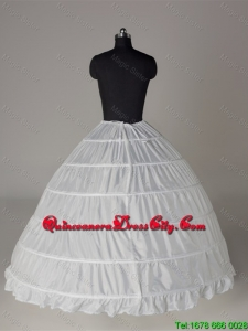 Top Seller Ball Gown Floor-length White Petticoat
