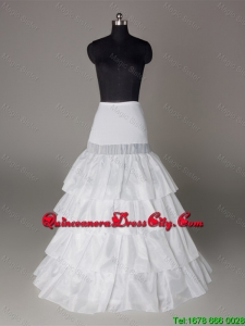 Wonderful Organza Floor-length Petticoat in White