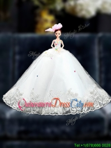 Sturning 2016 Organza Quinceanera Doll Dress in Multi Color
