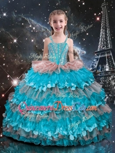 Best Straps Ruffled Layers Little Girl Pageant Dresses for 2020