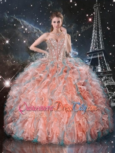 Fashionable Ball Gown Sweetheart Detachable Quinceanera Skirts for Fall