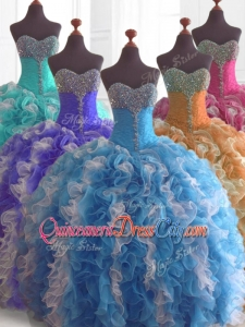 Low Price Custom Made Quinceanera Dresses in Multi Color