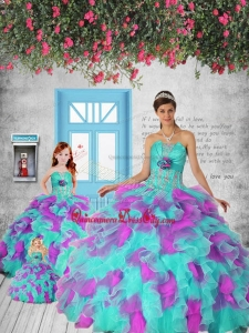 2021 New Style Multi-color Princesita Dress with Appliques and Ruffles