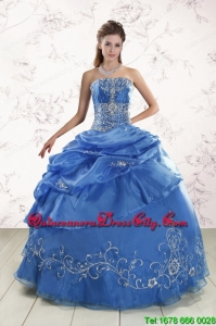 Appliques Exclusive Royal Blue Quinceanera Dresses For 2022