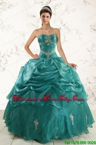 2021 New Style Ball Gown Sweet 16 Dresses with Appliques