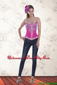 2021 Sweetheart Multi Color Corset with Pick Ups and Embroidery
