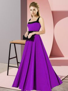 Sleeveless Belt Zipper Dama Dress for Quinceanera
