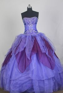 Colorful Sweetheart Sweet 15 Dresses with Beading and Ruffles