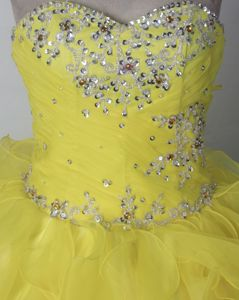 Fabulous Two-toned Beaded infant Pageant Dresses with Ruffles