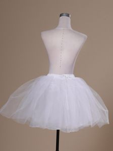 Simple Tulle Mini-length Prom Petticoat