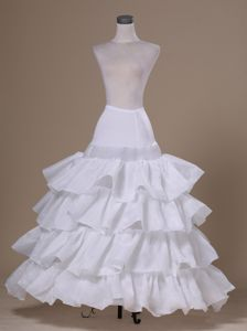Ruffled Layers Ball Gown Taffeta For Prom Petticoats